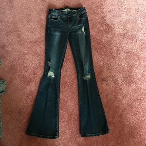Wet Seal flare jeans size 1